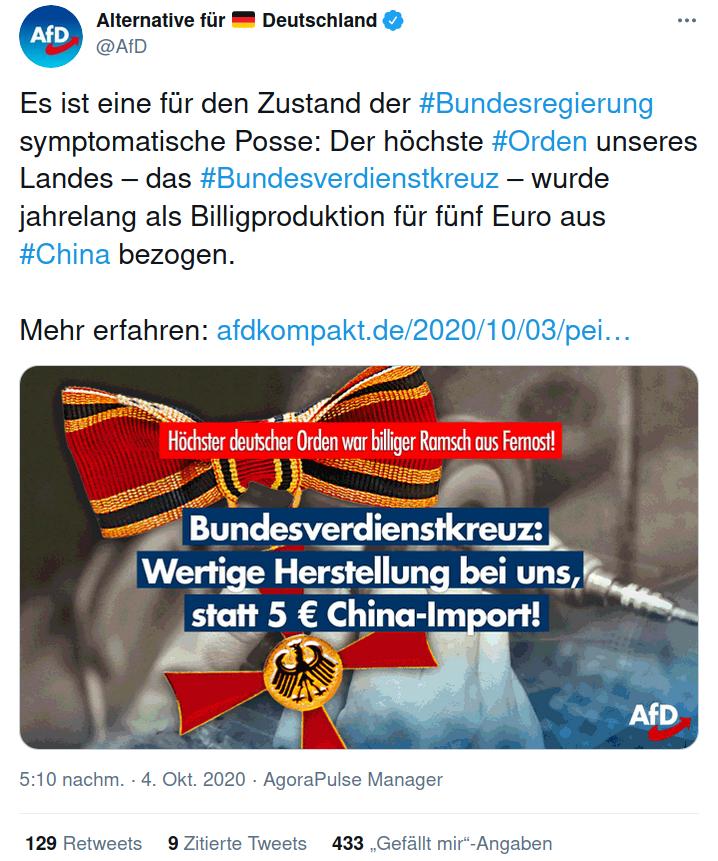 AfD China