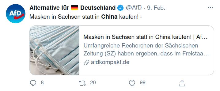 AfD China-Politik